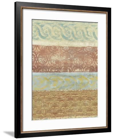 Decorative Patterns II-Alonzo Saunders-Framed Art Print