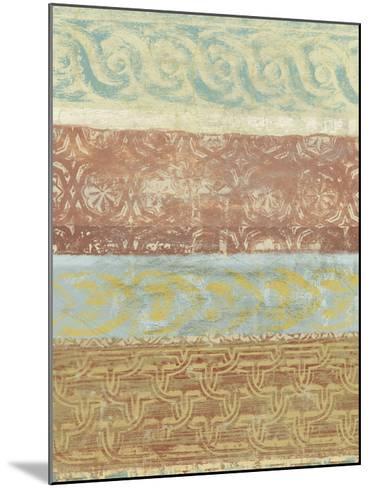 Decorative Patterns II-Alonzo Saunders-Mounted Art Print