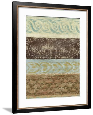Decorative Patterns IV-Alonzo Saunders-Framed Art Print