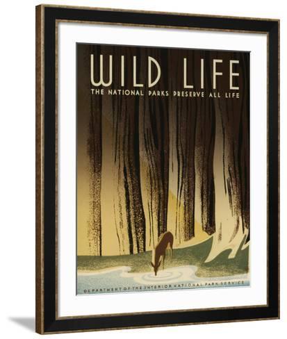See America III-Studio W-Framed Art Print