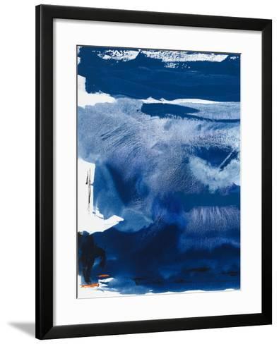 Blue Amore III-Sisa Jasper-Framed Art Print