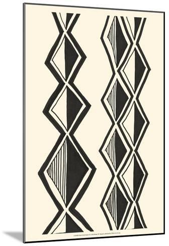 Mud Cloth Study II-Renee W^ Stramel-Mounted Art Print
