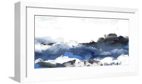 Sea Surface II-June Erica Vess-Framed Art Print