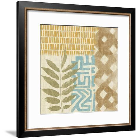 Tribal Life III-Alonzo Saunders-Framed Art Print
