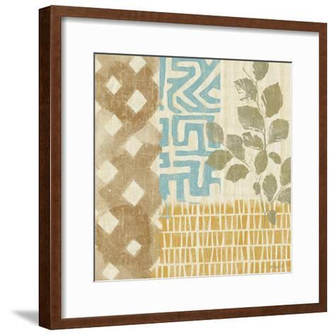 Tribal Life IV-Alonzo Saunders-Framed Art Print