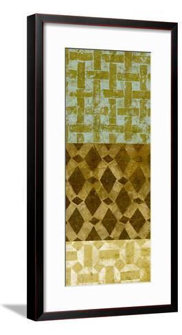 Tiled Up III-Alonzo Saunders-Framed Art Print