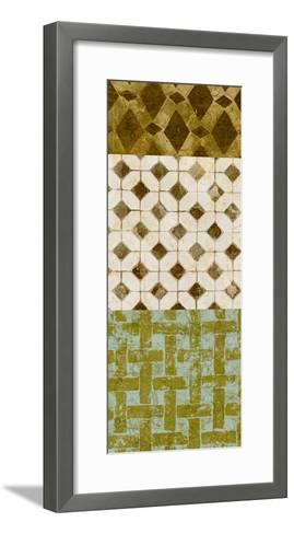 Tiled Up IV-Alonzo Saunders-Framed Art Print