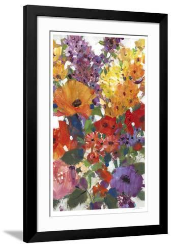 Fresh Floral I-Tim O'toole-Framed Art Print