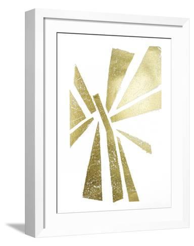 Gold Foil Symbiotic IV-June Erica Vess-Framed Art Print