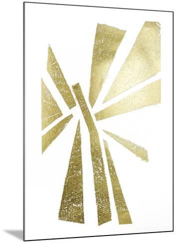 Gold Foil Symbiotic IV-June Erica Vess-Mounted Art Print