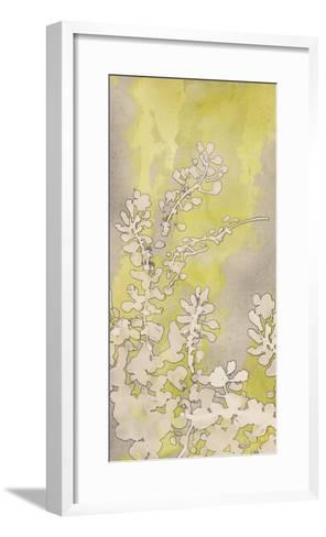 Moonlight Glow Flowers II-Tania Bello-Framed Art Print