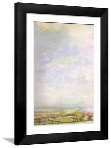 Green Fields Skyline-Paul Duncan-Framed Art Print