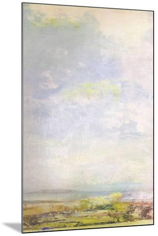 Green Fields Skyline-Paul Duncan-Mounted Giclee Print
