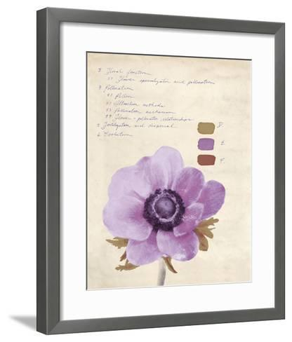 Botanical Wash II-Belle Poesia-Framed Art Print