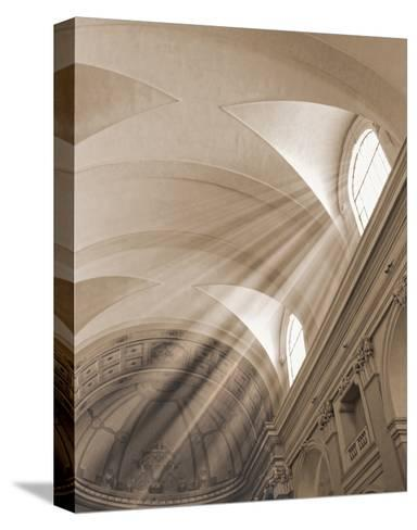 Sunbeamed Cathedral--Stretched Canvas Print