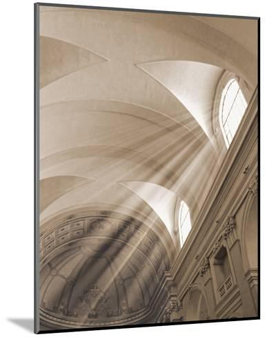 Sunbeamed Cathedral--Mounted Art Print