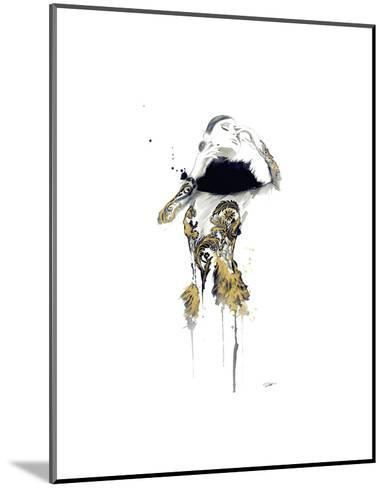 Gold Dust Woman-Jessica Durrant-Mounted Art Print