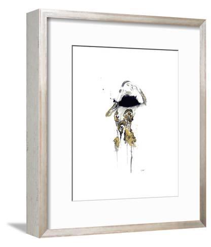 Gold Dust Woman-Jessica Durrant-Framed Art Print