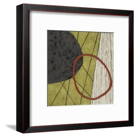 Subtle Shyness-Janette Dye-Framed Art Print
