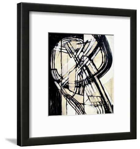The King of Hearts-Gizara-Framed Art Print