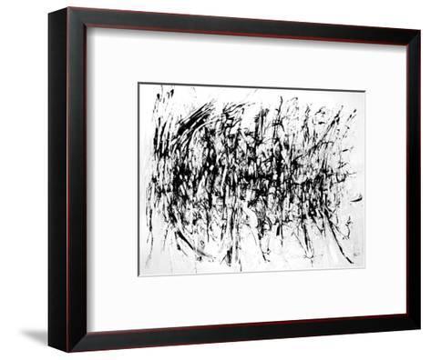 Tattered by the Wind-Gizara-Framed Art Print