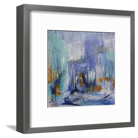 Slowly Melting-Michelle Hold-Framed Art Print