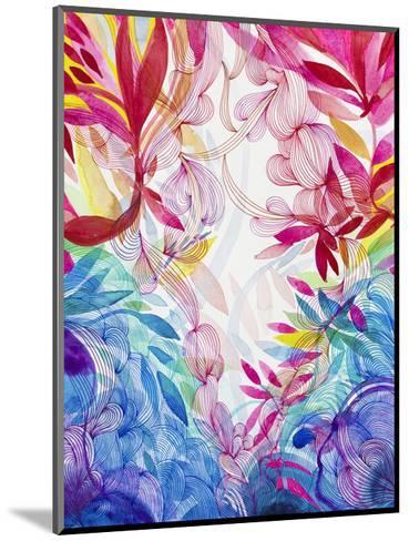Tropical Love-Helen Wells-Mounted Art Print