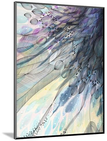 Cascade-Helen Wells-Mounted Art Print