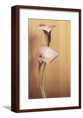 Calla I-Kory Fluckiger-Framed Art Print