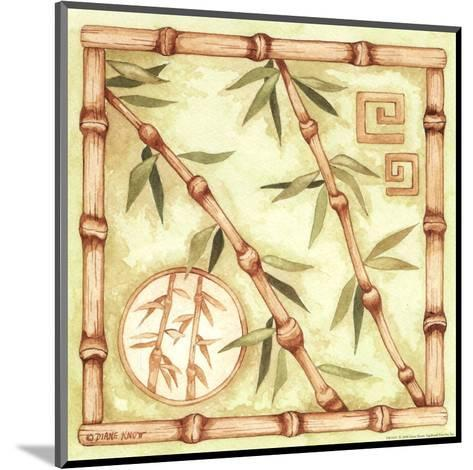 Bamboo Breeze III-Diane Knott-Mounted Art Print