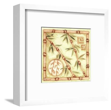 Bamboo Breeze III-Diane Knott-Framed Art Print