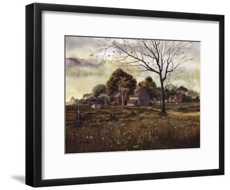 California Wildflowers - Spring Barn-Michael Humphries-Framed Art Print