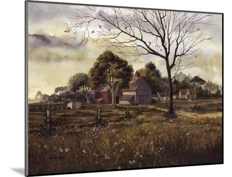 California Wildflowers - Spring Barn-Michael Humphries-Mounted Art Print