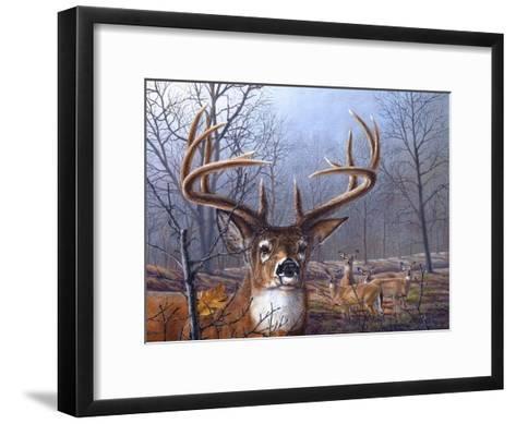 Morning Mist-Carolyn Mock-Framed Art Print
