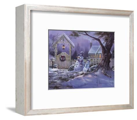 Season's Greeters-Michael Humphries-Framed Art Print