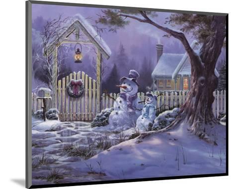 Season's Greeters-Michael Humphries-Mounted Art Print