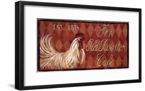 Old Rooster-Grace Pullen-Framed Art Print