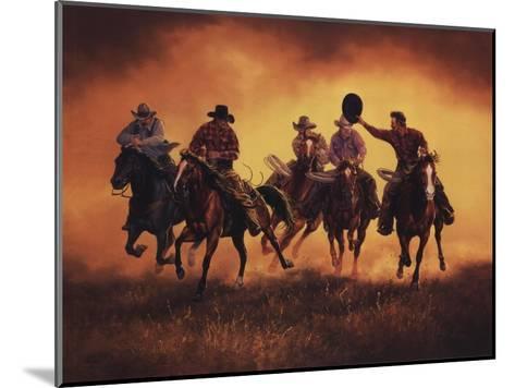 Kickin Up Dust-Jack Sorenson-Mounted Art Print