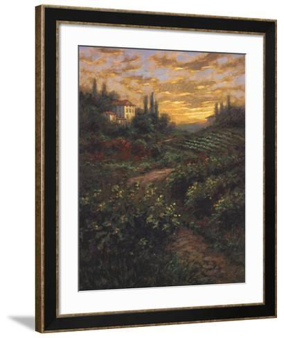 Italian Sky-Jon McNaughton-Framed Art Print