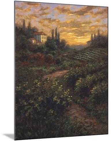 Italian Sky-Jon McNaughton-Mounted Art Print