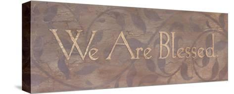 We Are Blessed-Stephanie Marrott-Stretched Canvas Print
