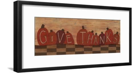 Give Thanks.-Sue Allemand-Framed Art Print