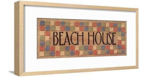 Beach House-Sue Allemand-Framed Art Print