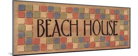 Beach House-Sue Allemand-Mounted Art Print