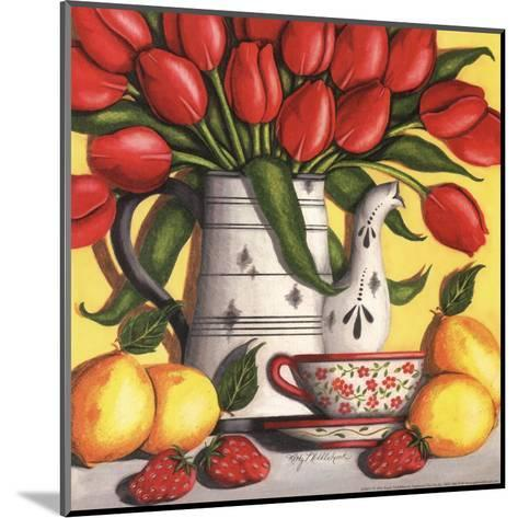 Red Tulips-Kathy Middlebrook-Mounted Art Print
