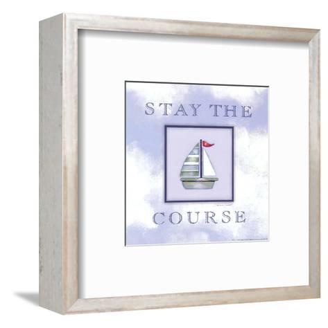 Stay The Course-Stephanie Marrott-Framed Art Print
