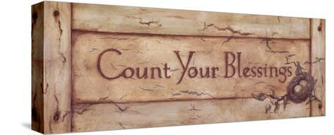 Count Your Blessings-Stephanie Marrott-Stretched Canvas Print