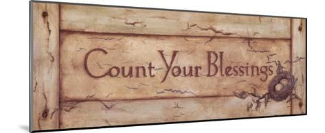 Count Your Blessings-Stephanie Marrott-Mounted Art Print