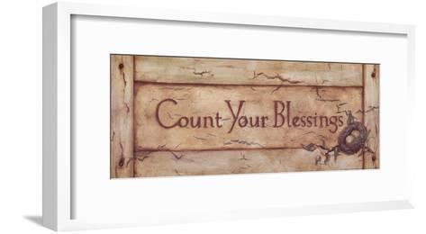 Count Your Blessings-Stephanie Marrott-Framed Art Print
