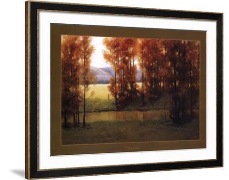 Autumn Reflection-Alan Lund-Framed Art Print